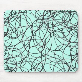 Cojín de ratón sin descubrir del artista de tapetes de ratones