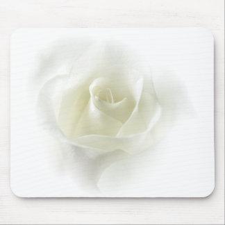 Cojín de ratón suave del rosa blanco alfombrillas de ratón