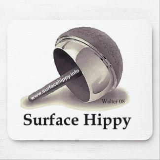 Cojín de ratón superficial del hippy tapetes de ratones