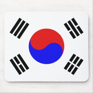 Cojín de ratón surcoreano de la bandera tapete de ratones