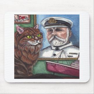 Cojín de ratón titánico del CAT de COON de MAINE Tapetes De Raton