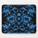 Cojín de ratón tribal azul marino tapetes de ratón