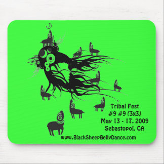 Cojín de ratón tribal del Fest Tapete De Ratones