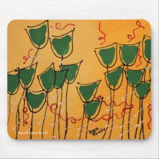 Cojín de ratón - tulipanes de Soco Freire Alfombrilla De Raton