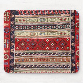 Cojín de ratón turco rojo del diseño de la manta tapete de ratón