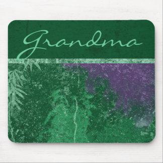 """Cojín de ratón verde tóxico de la """"abuela"""" de Avat Mouse Pad"""