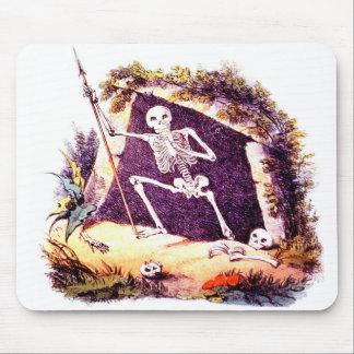 Cojín de ratón viejo triste de rey Death Tapete De Raton