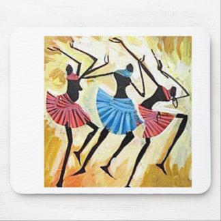 Cojín del baile de Maasai Tapete De Ratones