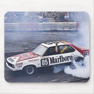 Cojín del coche de carreras y de ratón del humo tapetes de raton