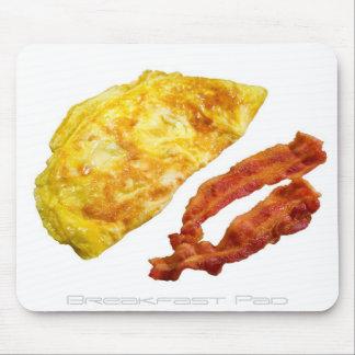 Cojín del desayuno mousepad