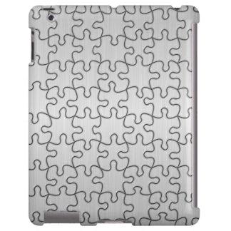 Cojín del rompecabezas funda para iPad