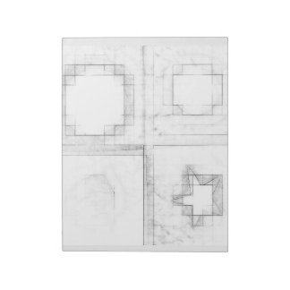 cojín shapeful de note blocs de papel
