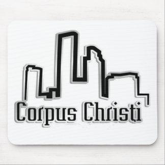 Cojines de ratón de Corpus Christi Tx Alfombrillas De Ratones