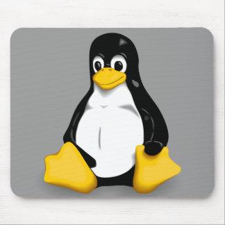 Cojines de ratón de Linux Tux Tapete De Ratón