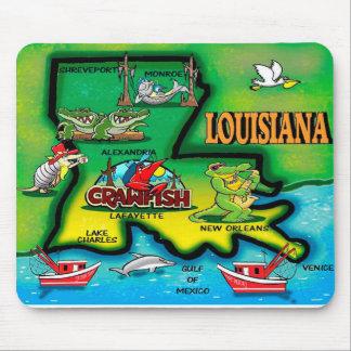 Cojines de ratón de Luisiana Tapetes De Ratón