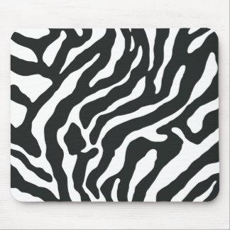 Cojines de ratón de Reto del estampado de zebra de Alfombrilla De Ratón