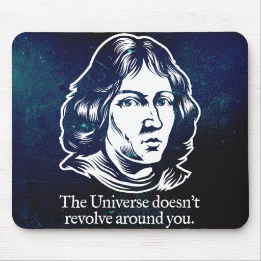 Cojines de ratón del Egocentrism de Copernicus Alfombrilla De Raton