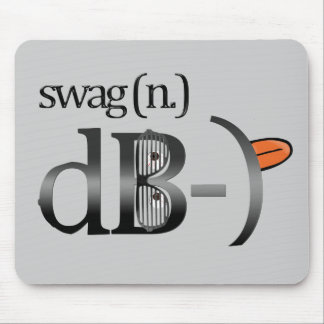 Cojines de ratón divertidos sonrientes del Swag Mousepad