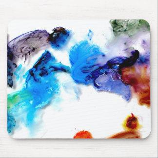Cojines de ratón frescos coloridos de las pinturas alfombrillas de raton