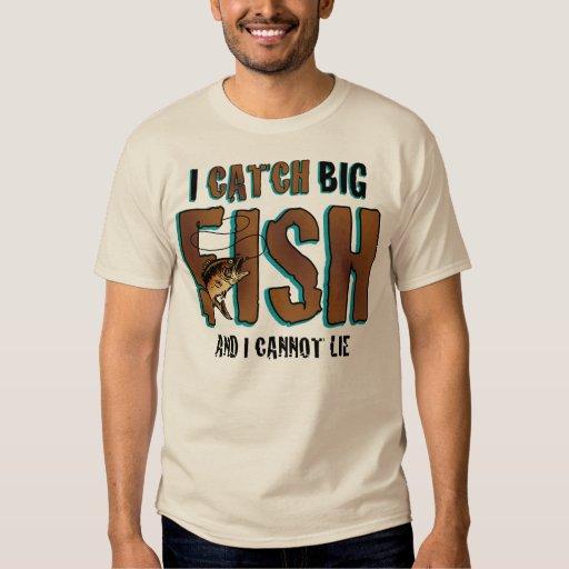 Cojo pescados grandes poleras