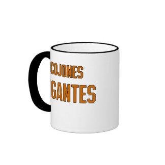 Cojones Gigantes Ringer Mug