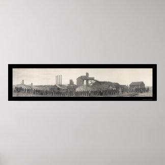 Coker Mine Livingston Photo 1915 Poster