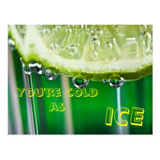 Col as Ice postcard