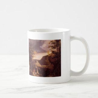 Col Daniel Boone de Thomas que se sienta en la pue Taza De Café