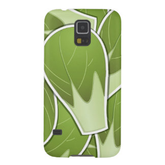 Col de Bruselas enrrollada Carcasa Para Galaxy S5