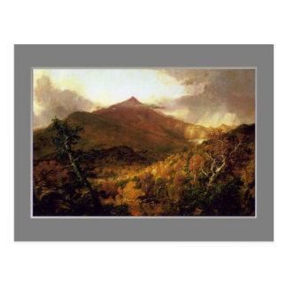 Col de Thomas, Adirondacks de la montaña de Postal