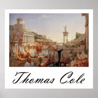 Col de Thomas el curso de la consumación del imper Póster