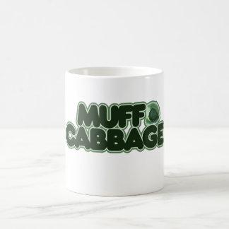 Col del manguito tazas de café