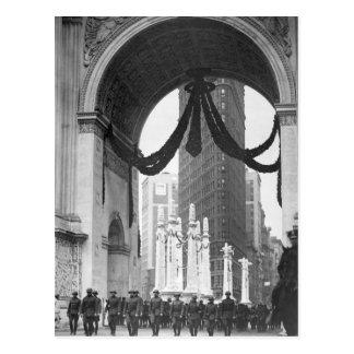 Col. Donovan and staff of 165th Inf_War Image Postcard