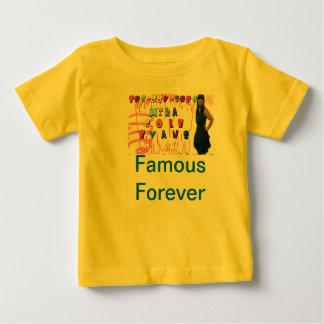 Col Evans de Mika camiseta del niño de 6 meses Remeras