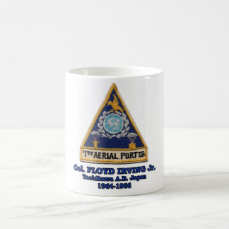 Col. Floyd Irving Jr. Tachikawa AB Japan 1964-1966 Coffee Mug