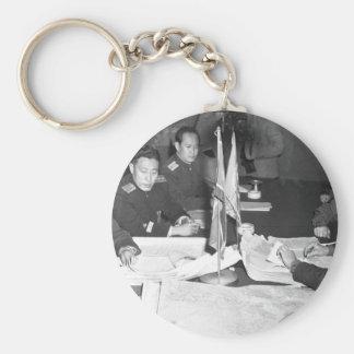 Col. James Murray, Jr., USMC, and Col_War Image Keychain