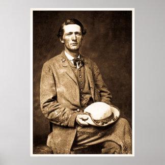 Col. John S. Mosby Civil War Legend Poster