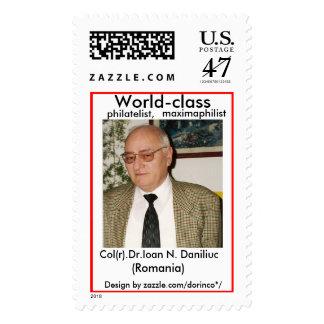 Col.(r) Dr. Ioan N. Daniliuc Postage