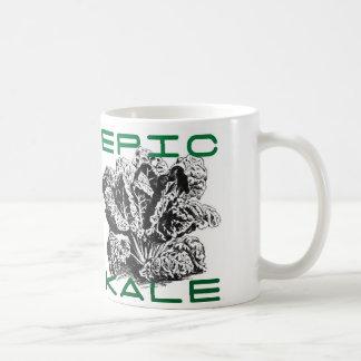 Col rizada épica taza