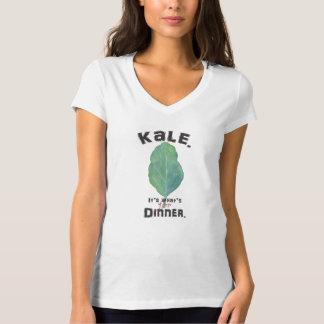 Col rizada. Es cuál está para la cena. Camiseta