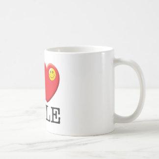 Col rizada taza clásica