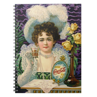 Cola Ad 1890 Notebook