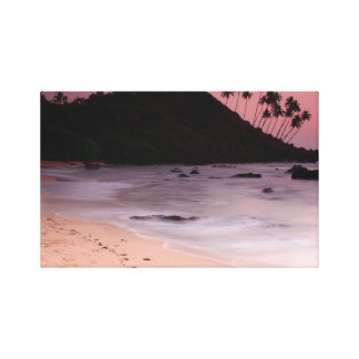 Cola Beach sunset Canvas Print