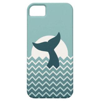 Cola de la ballena iPhone 5 cárcasa