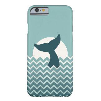 Cola de la ballena funda de iPhone 6 barely there