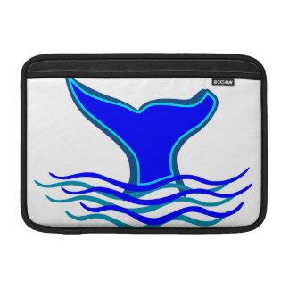 Cola de la ballena fundas macbook air