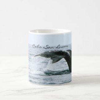 Cola de la ballena jorobada, Cabo San Lucas Taza