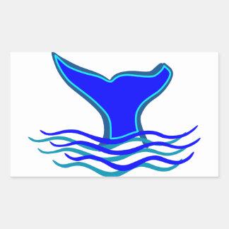 Cola de la ballena rectangular altavoz