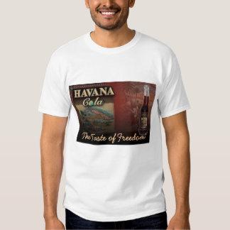 ¡Cola de La Habana el gusto de la libertad! Camisa