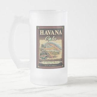 Cola de La Habana y taza de Mojito